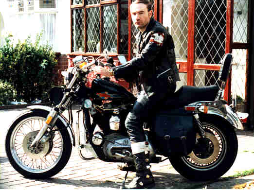 Me on my Harley Davidson XLH 1000 JPEG