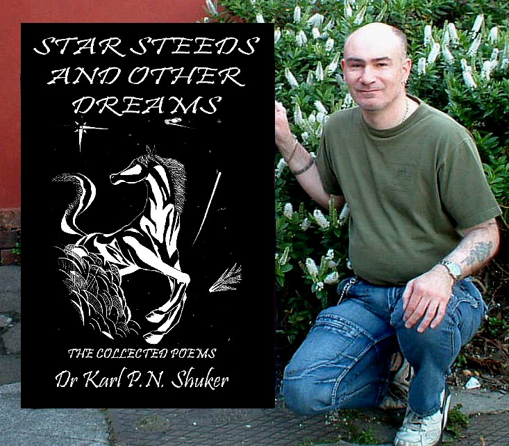 My 'Star Steeds and Other Dreams' poetry book and I.JPEG